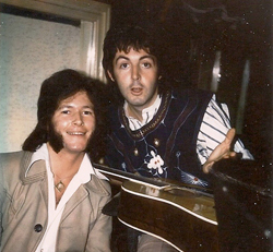 Mike and Paul McCartney