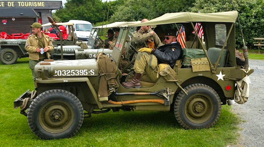Army Vehicle, Normandy