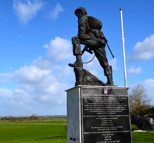 Iron Mike, Normandy