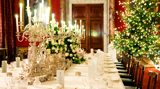 Christmas in the Great Dining Room