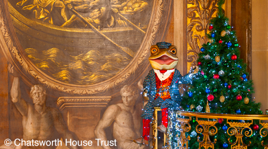 Mr Toad at Chatsworth-landscape