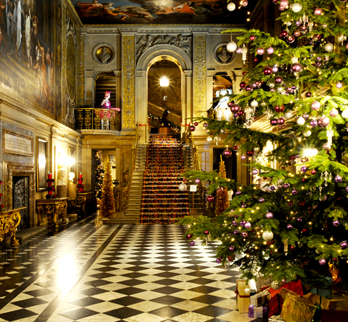 Painted Hall, Christmas - Matthew Bullen